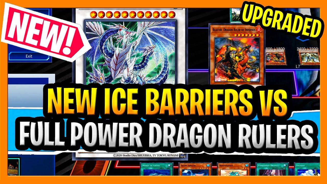 SLAYDRA - Ice Barriers Vs Full Power Dragon Rulers + More Ice Barriers Gameplay and Ice Barriers Deck Profile