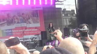 Conchita Wurst - You Are Unstoppable CSD Köln 2015
