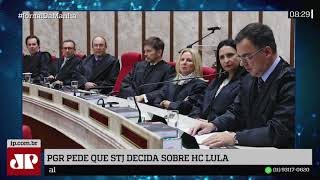 PGR quer que STJ analise pedido feito pela defesa de Lula no TRF4