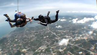 Tandem Skydiving with Thai Sky Adventures - RAW FOOTAGE