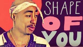 2pac - Shape Of You (Ridahmuzic) 2017
