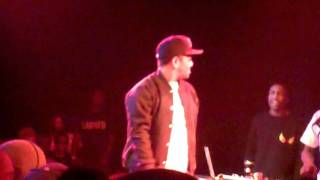 Skeme Performs Look At Me Now Freestyle At The Roxy 1/31/12