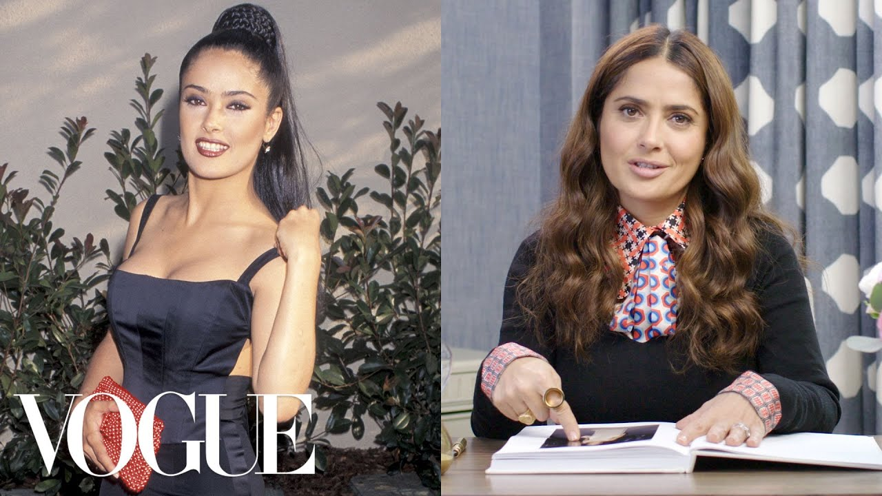 Salma Hayek Breaks Down 13 Looks from 1996 to Now