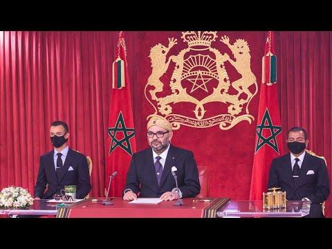Video : Révolution du Roi et du Peuple : S.M. le Roi adresse un discours à la Nation