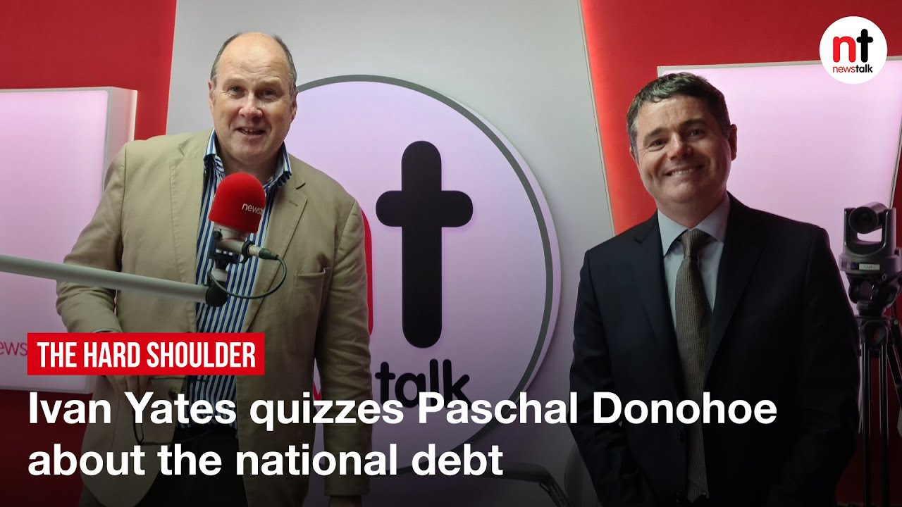 """""""I have a Figure in mind,"""" Ivan Yates Quizzes Paschal Donohoe about the National Debt"""