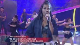 Cheguei: Ludmilla lança nova música no Programa da Sabrina