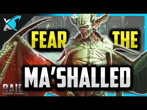 FEAR the MA'SHALLED... New CC Beast? | First Look in Patch 1.14 | RAID: Shadow Legends