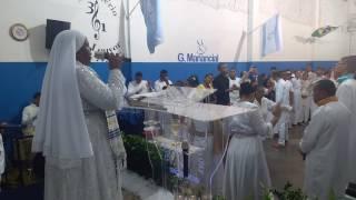 Apóstola Elizabeth Louvando Poderoso Deus. Em Aracaju-SE Na Deus Que Tudo Ve