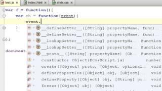 JavaScript Tutorial - event delegation