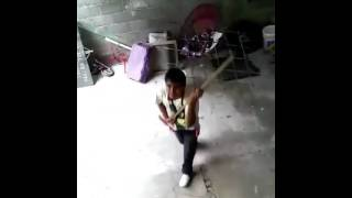 Peterete bailando XD