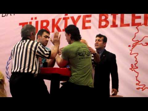 Türkiye Bilek Güreşi Şampiyonası 2012 - Engin Terzi vs Mehmet Fatih Boz