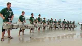 Band Day Beat: MSU Drumline 2011: Clearwater Beach/Outback Bowl