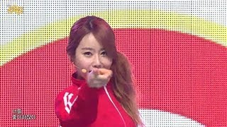 Crayon Pop - Bing Bing, 크레용팝 - 빙빙, Music Core 20130216