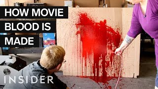 How Fake Blood Is Made For Movies