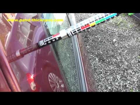Oto Araç Kaporta Boya Kalınlık Ölçü Ölçer Aleti www.paint-thickness.com