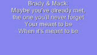 Teen Beach Movie: Meant To Be with lyrics