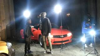 BTS of Melle Morell video shoot featuring Ralf