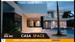 Presentacion 2018 Casa moderna de Lujo Space.