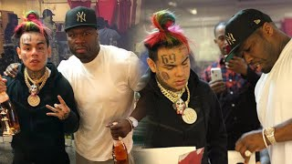 6ix9ine & 50 Cent Shot at in New York