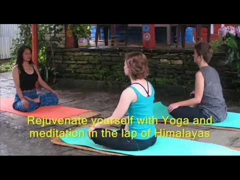 Glimpse of Ghandruk Yoga Trek