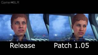 Mass Effect: Andromeda - Patch 1.05 Animation Comparison