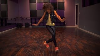 "12 year old Kyndall Harris dancing to Janet Jackson's ""Feedback"" - Choreography by Antoine Troupe"