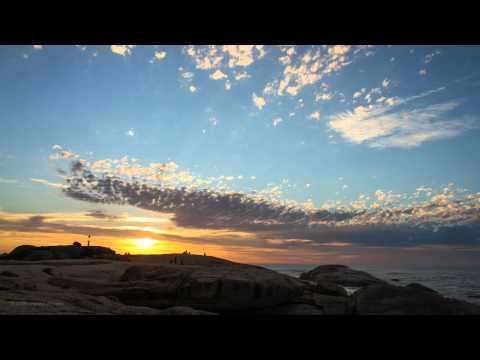 Cape Town Sunset Time-Lapse – 14 December 2012
