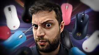 Antes de comprar un mouse... Mira este video 😡 | Todos los mouse de Zowie