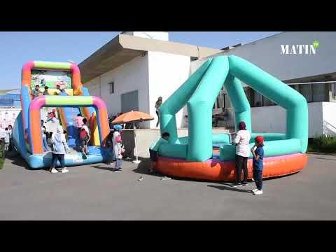 Video : Les enfants du groupe Le Matin invités à la kermesse Achoura