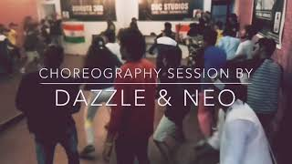 "SWAG GANG Crew Auditions ""Passion For Glory"" _ Choreography Session by Dazzle & Neo"