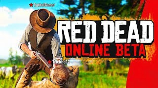 Red Dead Online BETA Multiplayer Gameplay LIVE!! (Red Dead Redemption 2 Online Gameplay)