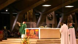 Lourdes - Messa internazionale (Card. Paolo Romeo) 24 Luglio 2011