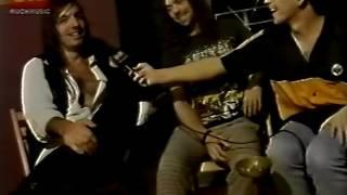 Rata Blanca en Much Music (entrevista 1996)