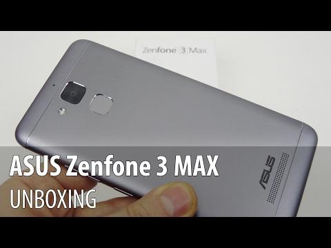 ASUS Zenfone 3 MAX Unboxing în Limba Română