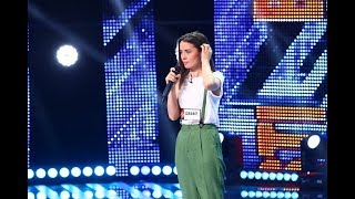 "Nirvana - ""Smells Like Teen Spirit"". Vezi interpretarea Melaniei Bejan la X Factor"