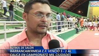 Barrancabermeja CF venció 5-1 al cauca en campeonato mil ciudades