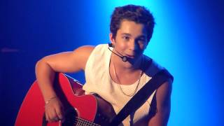 Austin Mahone - All I Ever Need (acoustic) - Le Bataclan at Paris - 25.06.2014