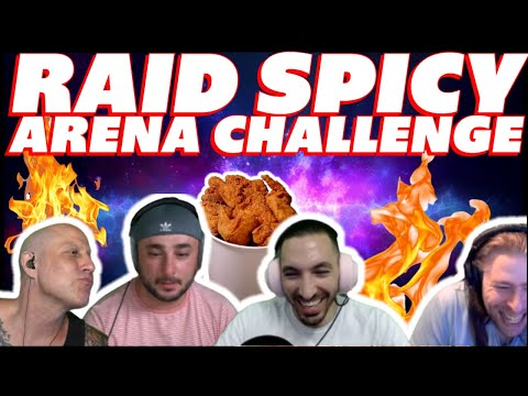 RAID Spicy Chicken Challenge StewGaming vs Cold Brew Gaming & Manibal Gaming vs TheSaffronMan