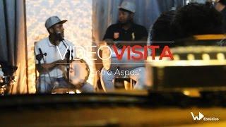 """VIDEO VISITA - Grupo """"Entre Aspas"""" (Estúdios WD)"""