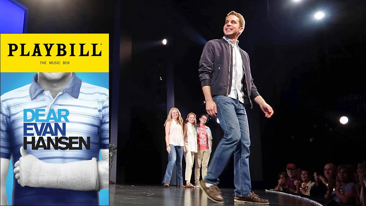Dear Evan Hansen Broadway Tour Dates Tampa Bay Tonight