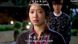 Moon Myung Jin   Crying Again 또 운다 FMV The Heirs OSTENGSUB + Romanization + Hangul