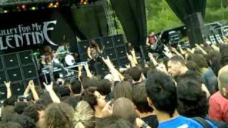 Bullet For My Valentine - Waking The Demon [Live@Sonisphere Festival June 24th 2010 ATHENS,GREECE]