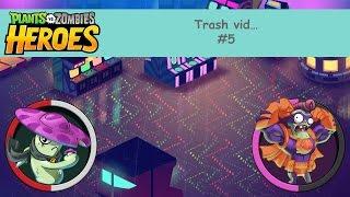 [50subs plz]Cherry Bomb FTW! | PvZH Trash vid #5 (feat. Portal Technician)