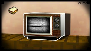 \( ͡° ͜ʖ ͡°)ノ  Minecraft: How to make an Old TV