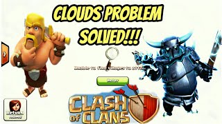 clash of clans secrets How to push in Legend League clouds problem solved