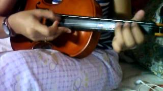 Happy Birthday- Violin Plucking