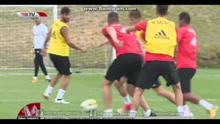 O treino matinal do SL Benfica, no 9º dia da pré-época 2017/18