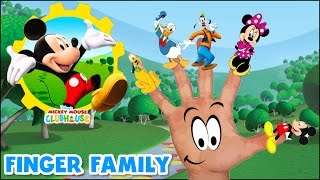 Finger Family Song Nursery Rhymes Video for Children Disney Mickey Mouse Goofy