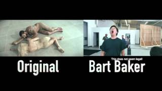 Sia - Elastic Heart (Original vs Bart Baker's Parody) full credit to bart and sia