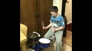 David love drumming